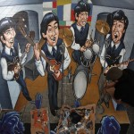 Beatles: Planet Street-Painting, Liverpool UK 2011