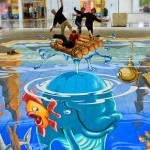 Summer Splash: (Planet Street-Painting) St Helens UK 2011