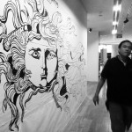 Wall Drawing: ION Gallery, Singapore 2012